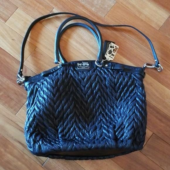 Coach Handbags - Coach 70th Anniversary purse black